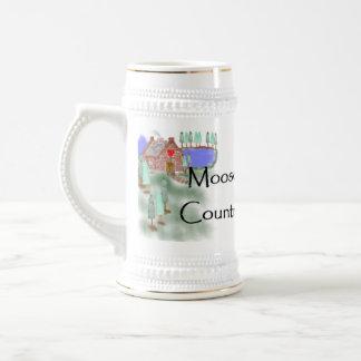 Moose Country Cabin Mug