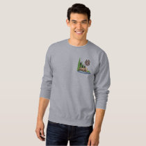 Moose Country Embroidered Sweatshirt