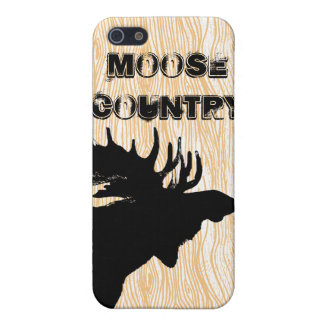 Moose Country iPhone Cover iPhone 5 Case