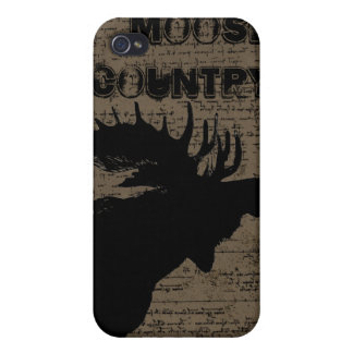 Moose Country iPhone Cover iPhone 4 Cover