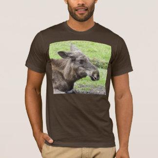 Moose Cow Profile Shot T-Shirt