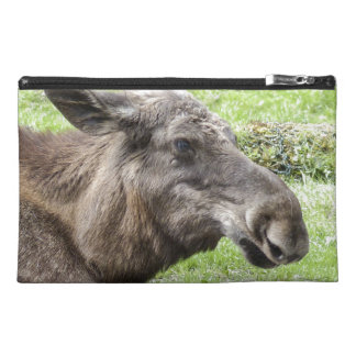 Moose Cow Profile Shot Travel Accessory Bag