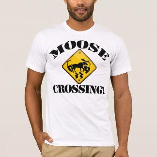 Moose Crossing T-Shirt