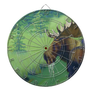 Moose Deer Antelope Elk Hunting Dartboard With Darts