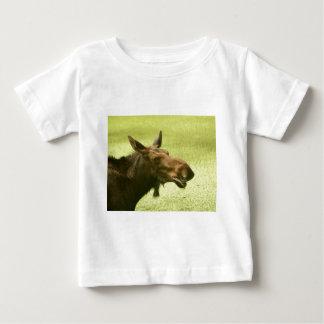 Moose Did Someone Say Cake? Baby T-Shirt