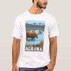 Moose Drinking at Lake - Juneau, Alaska T-Shirt