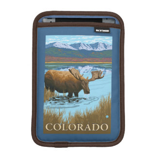 Moose DrinkingColorado iPad Mini Sleeve
