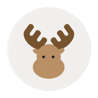 Moose Edible Frosting Rounds