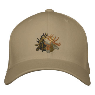 Moose, Elk, Deer Baseball Cap