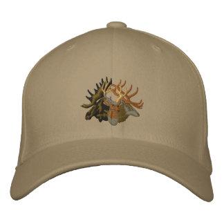 Moose, Elk, Deer Embroidered Baseball Cap