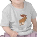 Moose elk moose tee shirt