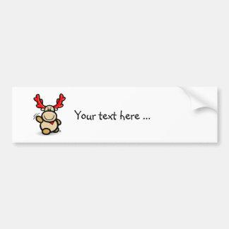 Moose Elmondo waves you! Bumper Stickers