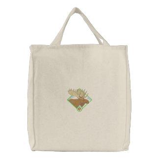 Moose Canvas Bag