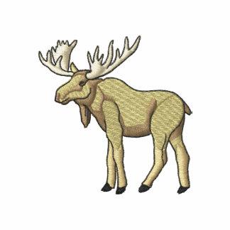 Moose Embroidered Polo Shirt