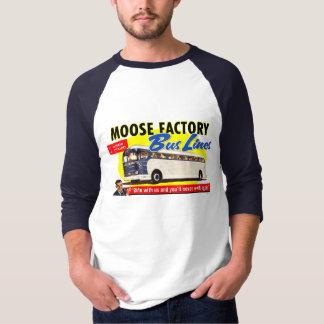 Moose Factory Bus Lines T Shirt