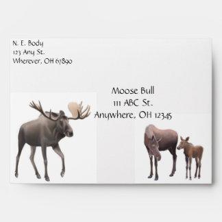 Moose Family Envelope
