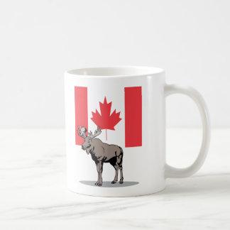 Moose & Flag Coffee Mug