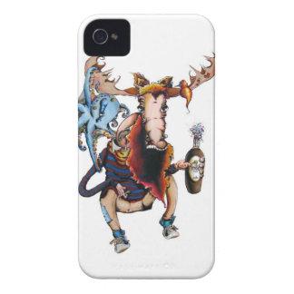 Moose & Friends Case-Mate iPhone 4 Case
