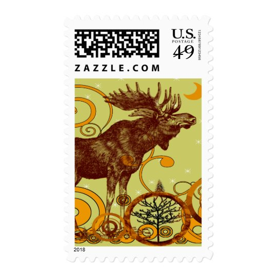 Moose Gifts Postage