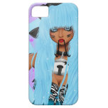 Moose Girl iPhone 5 Covers
