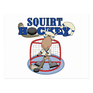 Moose Goalie Squirt Hockey Tshirts and Gifts Postcard