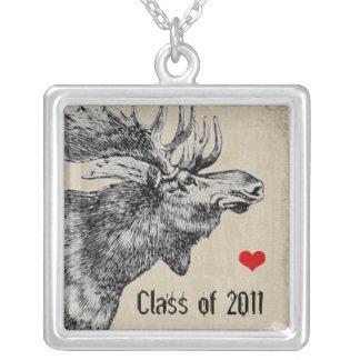 Moose-Graduation Class of 2011 Necklaces
