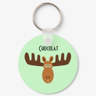 Moose Head_Chocolat keychain