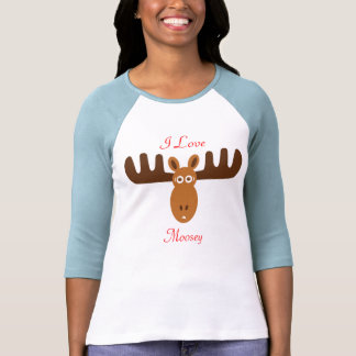 Moose Head_I Love Moosey Shirt