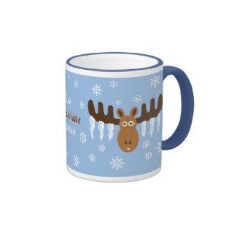 Moose Head_Icicle Antlers_Hot Chocolate Moose Mug
