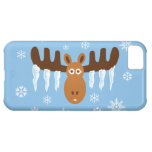 Moose Head_Icicle Antlers_Humorous Holidays Cover For iPhone 5C