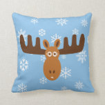 Moose Head_Icicle Antlers Pillows