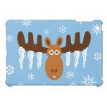 Moose Head_Icicle Antlers_Tis the freezin' season iPad Mini Cases