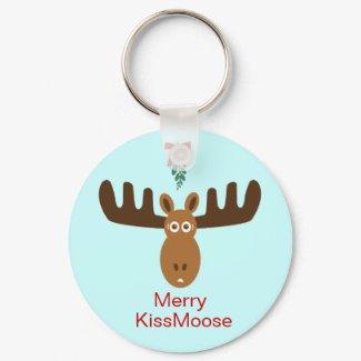 Moose Head_Merry KissMoose keychain