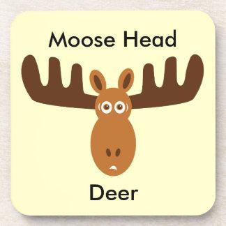 Moose Head_Moose Head Deer Coaster