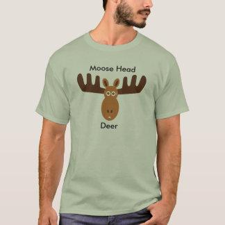 Moose Head_Moose Head Deer v.2 T-Shirt