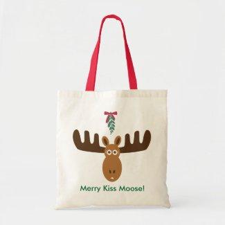Moose Head_Mooseltoe_Merry Kiss Moose bag