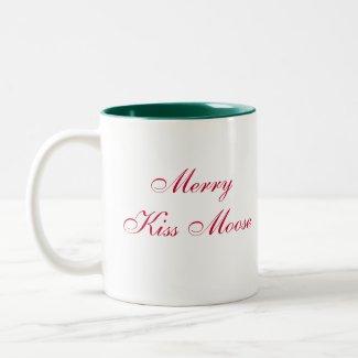 Moose Head_Mooseltoe_Merry Kiss Moose mug