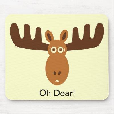 Moose face cartoon - photo#17