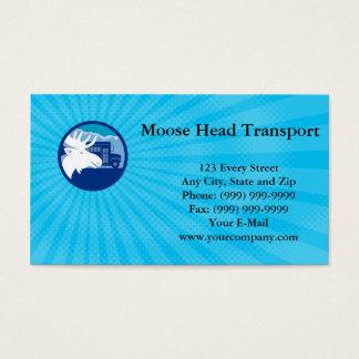 Moose Head Transport Business card