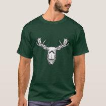 Moose Head Vintage Style Hunt Theme T-Shirt