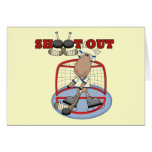 Moose Hockey Shoot Out Tshirts and Gifts Card