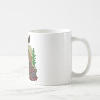 Moose humor coffee mug