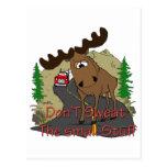 Moose humor postcards