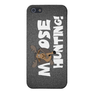 Moose Hunting iPhone Case