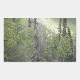 Moose In Alaska Rectangular Sticker