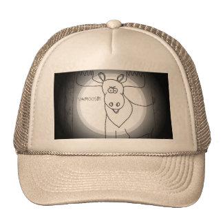 Moose in Cross Hairs  says Vamoose! Trucker Hat