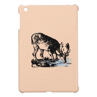 Moose in Stream iPad Mini Cover