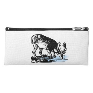 Moose in Stream Pencil Case