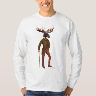 Moose In Suit Full 2 T-Shirt