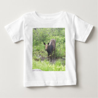 Moose in the Mud Baby T-Shirt